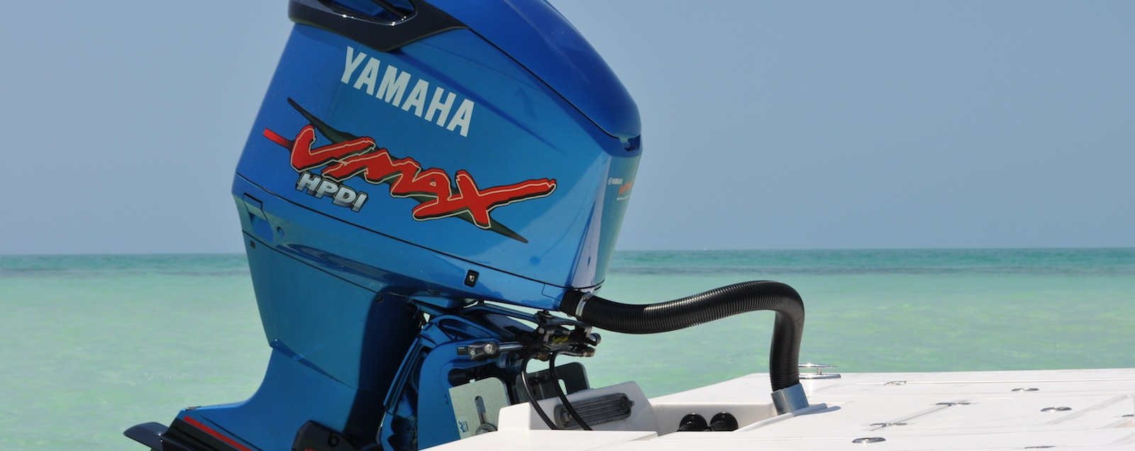 Yamaha Outboard White Paint