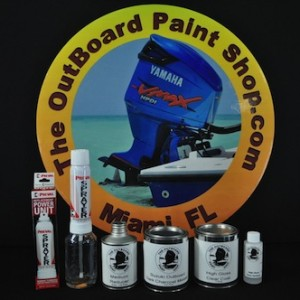 Suzuki Outboard Cowling Paint